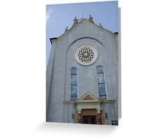Historic Building-St. Augustine Greeting Card