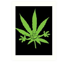 Marijuana Munchies Art Print