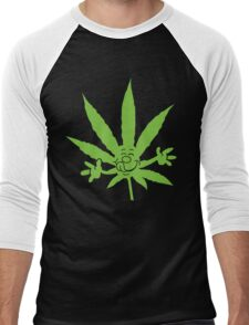 Marijuana Munchies Men's Baseball ¾ T-Shirt
