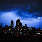 Thunder Storm in town by fredz