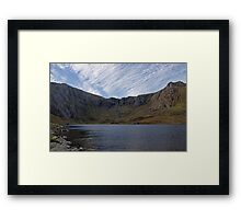 Cwm Idwal and the Devil's Kitchen Framed Print