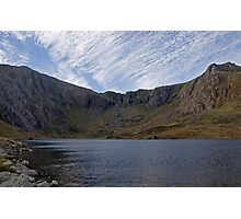 Cwm Idwal and the Devil's Kitchen Photographic Print