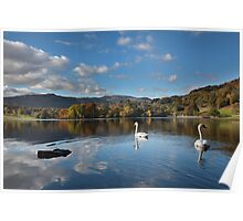 Rydal Water Autumn Poster