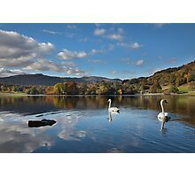 Rydal Water Autumn Photographic Print