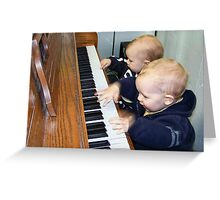 Musical Prodigies Greeting Card