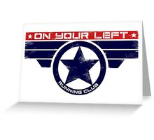 """""""On Your Left Running Club"""" Hybrid Greeting Card"""