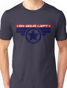"""On Your Left Running Club"" Hybrid Unisex T-Shirt"