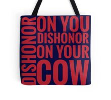 DISHONOR! Tote Bag