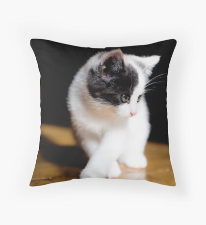 Puffball Throw Pillow