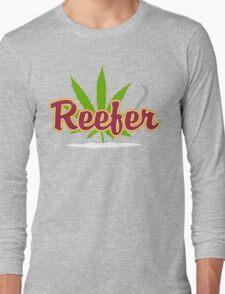 Reefer Marijuana Long Sleeve T-Shirt