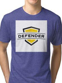 Strong impenetrable shield! Tri-blend T-Shirt