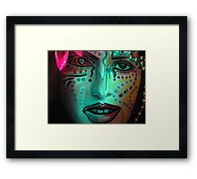 From  The  Watery  Depths... Framed Print