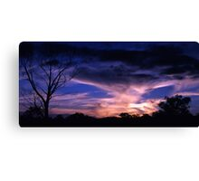 Country Fire Canvas Print
