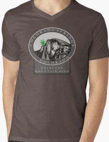 Marijuana Colorado Springs Mens V-Neck T-Shirt