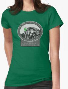 Marijuana Colorado Springs Womens Fitted T-Shirt