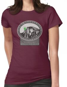 Marijuana Colorado Springs Womens Fitted T-Shirt