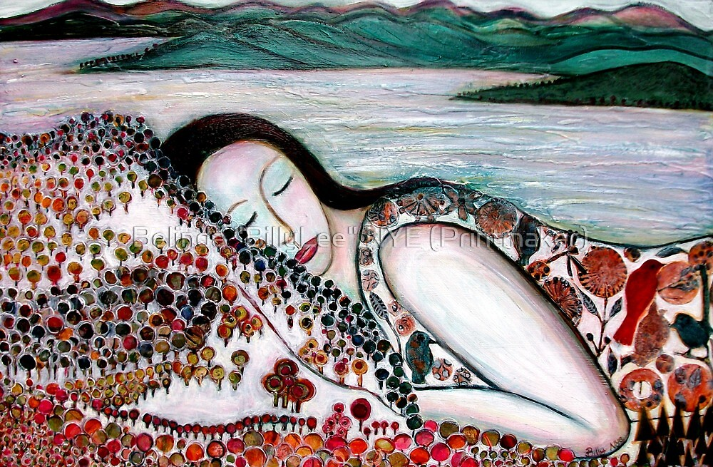 "Mother Earth Goddess by Belinda ""BillyLee"" NYE (Printmaker)"