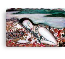 Mother Earth Goddess Canvas Print