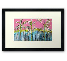 Florid summer Framed Print