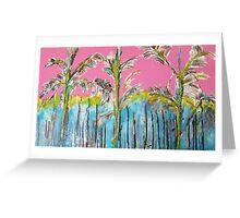 Florid summer Greeting Card