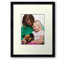 Daddy Frodo and me  Framed Print