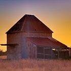 Chicory Kiln Sunset by Daniel Robertson