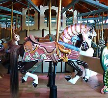 Carousel Armored horse by MischaC