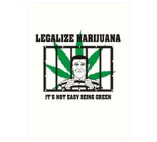 Legalize Marijuana Art Print