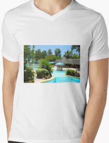 Travellers Vacation Resort in Mombasa, KENYA Mens V-Neck T-Shirt