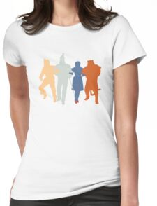 Off to see the Wizard. Womens Fitted T-Shirt