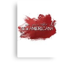 New Americana Canvas Print