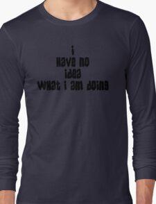 Stoned Marijuana Long Sleeve T-Shirt