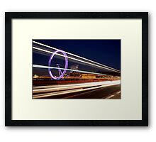 London Lines Framed Print