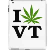 I Marijuana Vermont iPad Case/Skin