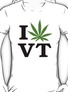 I Marijuana Vermont T-Shirt