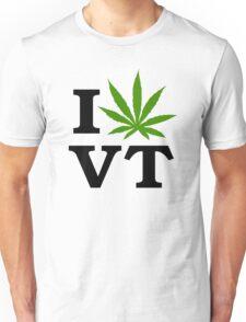 I Marijuana Vermont Unisex T-Shirt