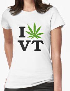 I Marijuana Vermont Womens Fitted T-Shirt
