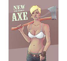 AXE Photographic Print