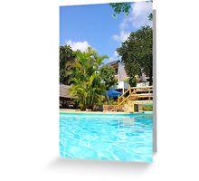 Travellers Club Resort in Mombasa, KENYA Greeting Card