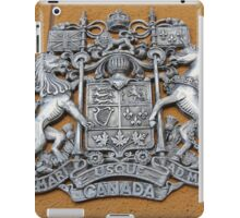 Metal Canada Coat of Arms iPad Case/Skin