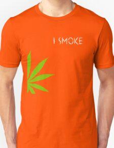I Smoke Marijuana T-Shirt