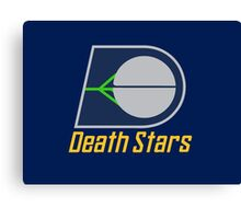 The Death Stars - Star Wars Sports Teams Canvas Print