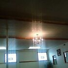 beams from heaven or maybe just some light fixture by catnip addict manor