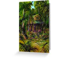 the artists retreat Greeting Card