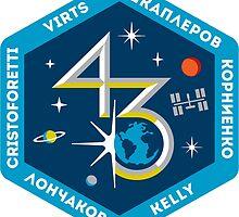 Expedition 43 Logo by Quatrosales
