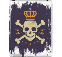 Skull and crown iPad Case/Skin