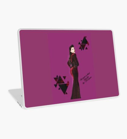 Long Live The Evil Queen Laptop Skin