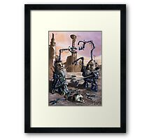 Bumfight 4000 Framed Print
