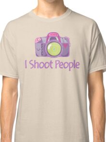 I Shoot People Cute Camera Photography T Shirt Classic T-Shirt