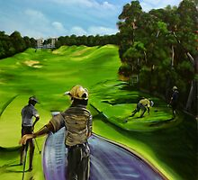 The 9th tee Twin Waters  by tola